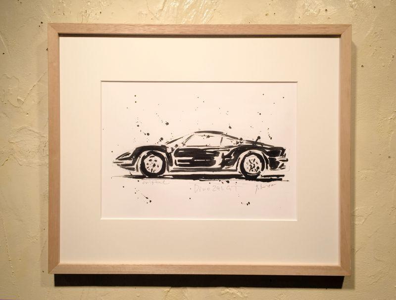 画像1: Ferrari Dino246 GT 原画/スミヤヤスヒト