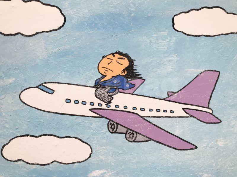 画像2: 坂本龍馬イラスト原画 - 飛ぶぜよ〜 -